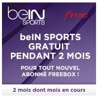 abonnement bein sport en cours de mois free