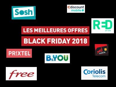 La généreuse sélection des forfaits mobiles du Black Friday à prix réduits
