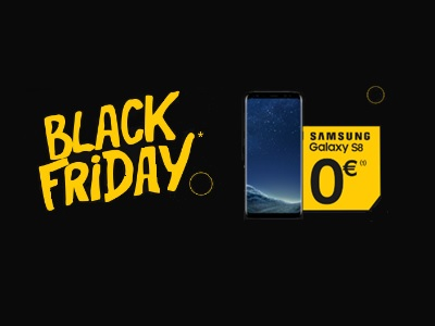 Black Friday La Poste Mobile Galaxy S8 à 0€