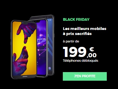 Black Friday Smartphones chez RED by SFR