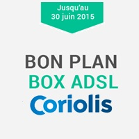 bon plan les offres box adsl sans tv en promo chez coriolis partir de. Black Bedroom Furniture Sets. Home Design Ideas