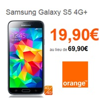 vente flash samsung galaxy s5 4g+