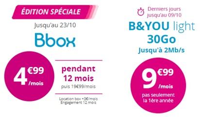 bons plans Bouygues Telecom