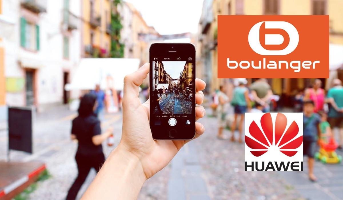 Promo Huawei : 4 smartphones à prix réduit chez Boulanger + 10 euros de remise par tranche de 100 euros d'achats