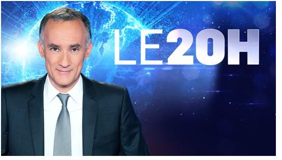 Gilles Bouleau journal de TF1 de 20 heures