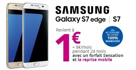 Bouygues Telecom  100euros de bonus sur votre reprise pour lachat dun Galaxy S7 ou S7 Edge