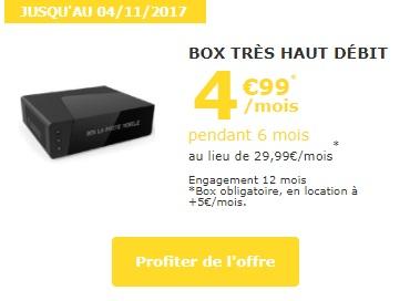 box Tv plus fibre La poste à 5€