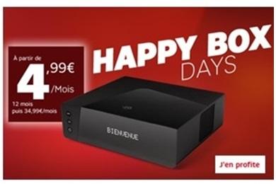 Prolongation exceptionnelle ! La BOX SFR Starter ADSL ou Fibre à 4.99 euros jusqu'au 12 mars