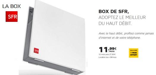 votre box sans tv en promo par mois chez sfr. Black Bedroom Furniture Sets. Home Design Ideas