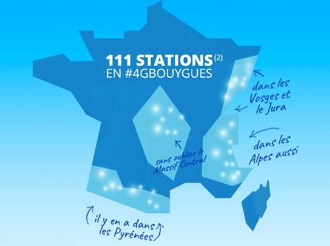 La 4G de Bouygues Telecom accessible dans 111 stations de ski françaises