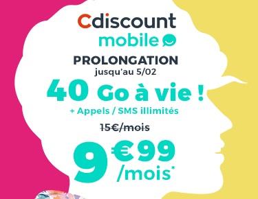 prolongation-le-forfait-40go-a-9-99-euros-a-vie-chez-cdiscount-mobile