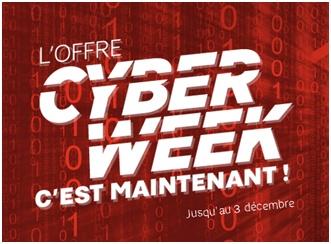 SFR lance l'offre CYBER WEEK 20 Go à seulement 9.99€ par mois !