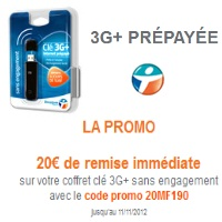 cle 3g Bouygues telecom
