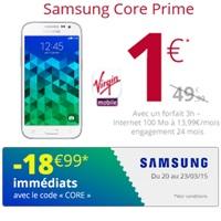 core prime vente flash virgin mobile