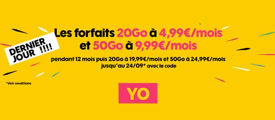 Ultime chance de saisir la promo YO de SOSH à moins de 5 euros