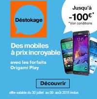 operation  destockage orange promo mobile