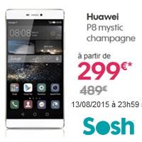 promo web sosh denieres heures vente flash huawei p8