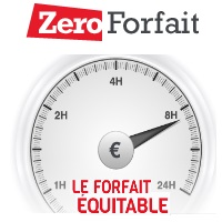 Le forfait ajustable est de retour chez Zero Forfait !