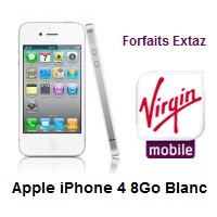 virgin mobile iphone 4 8 go