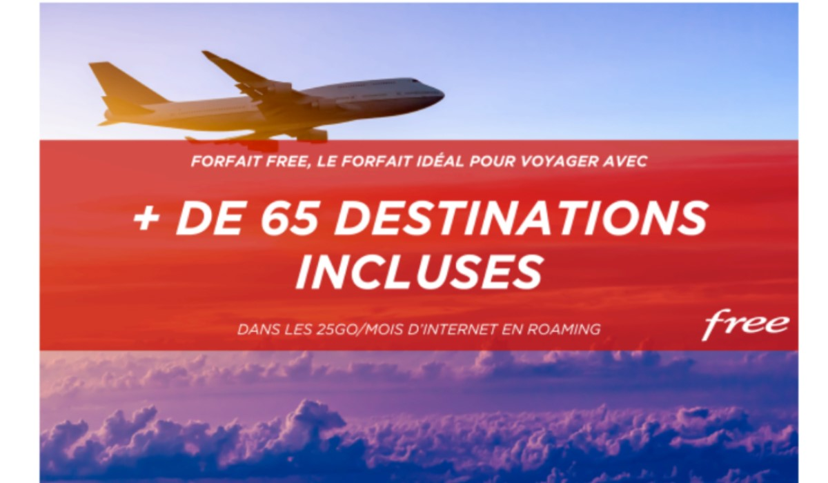 visuel Free destinations internationales