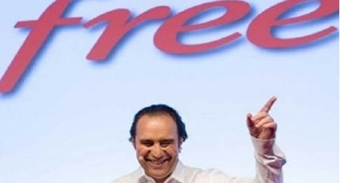 Xavier niel PDG de Free