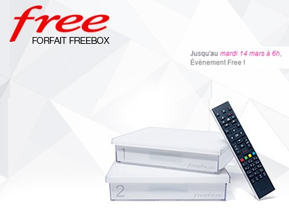 Freebox crystal vente privee