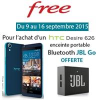 free mobile nouveau HTC Desire 626 en ligne