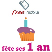 free mobile 1 an