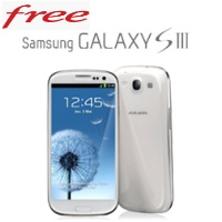 Le Samsung Galaxy S3 disponible chez Free Mobile !