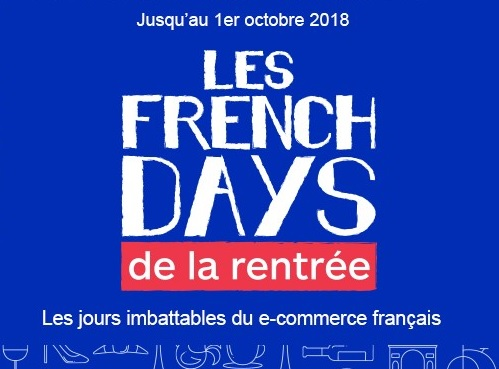 French Days Boulanger jusqu'au 1er Octobre