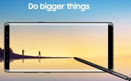 Galaxy Note 8 : Samsung enregistre un nouveau record de précommandes