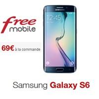 Commandez votre Samsung Galaxy S6 pour 69€ avec Free Mobile