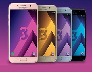 Cyber Monday : le Galaxy A3 2017 à moins de 200 euros + étui offert chez Rue du Commerce