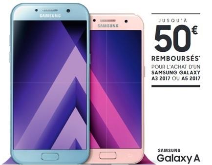 Les Samsung Galaxy A 2017 disponibles avec la série limitée 20Go RED By SFR