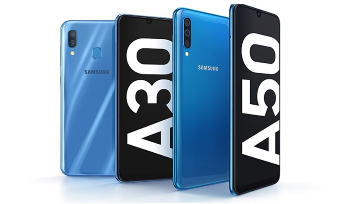 Galaxy A30 et A50 : Samsung dévoile ses deux nouveaux modèles de milieu de gamme au MWC 2019
