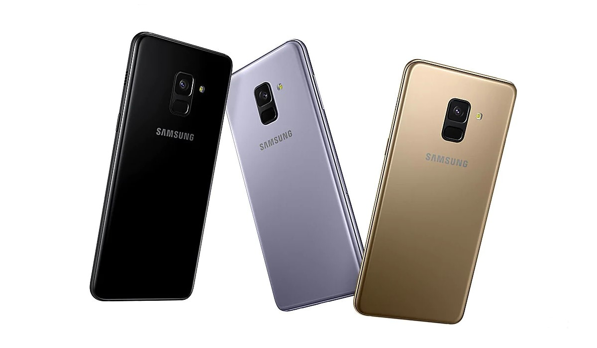 le Galaxy A8 2018 coloris