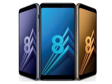 Galaxy A8 2018 coloris
