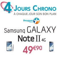 Bouygues Telecom galaxy note 2 4g