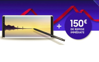 galaxy note 8 remise imm diate de 150 euros paiement en 20 fois sans frais chez boulanger. Black Bedroom Furniture Sets. Home Design Ideas