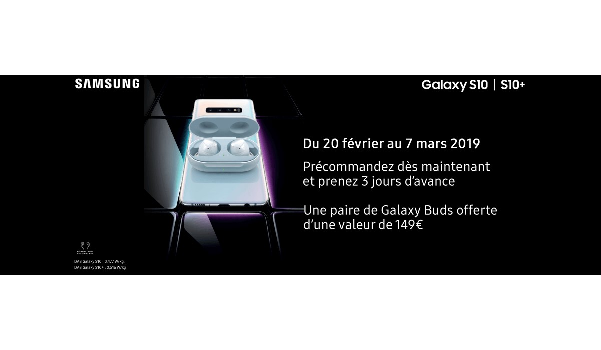 samsung galaxy s10 operation de lancement