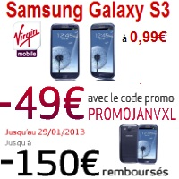 samsung s3 virgin mobile soldes
