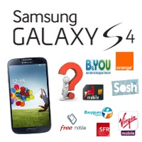 comparer le prix du samsung galaxy s4 avec un forfait mobile