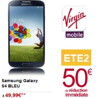 Virgin Mobile samsung galaxy S4 promotion