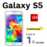 galaxy s5 vente flash