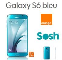 galaxy s6 bleu topaze chez orange et sosh