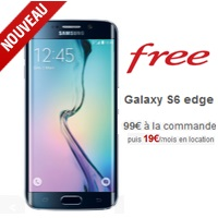 free mobile vous propose le samsung galaxy s6 edge 99 la commande. Black Bedroom Furniture Sets. Home Design Ideas