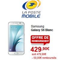 galaxy s6 chez La Poste Mobile