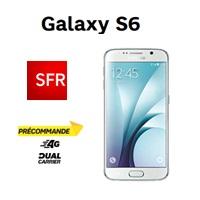 galaxy s6 et edge chez SFR