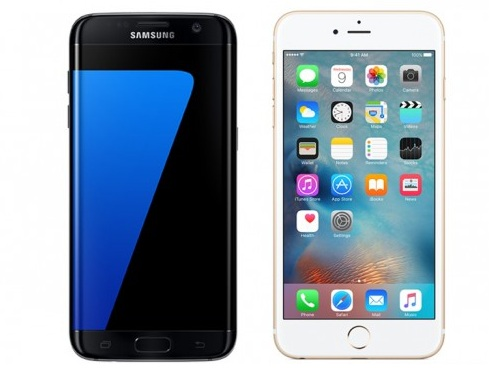 promos mobile sfr Galaxy S7, iPhone 6s