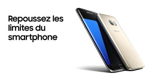Galaxy S7 ou Galaxy S7 Edge : à quel prix avec un forfait Sensation ou B&You de Bouygues Telecom